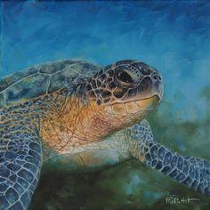 sea turtle painting tutorial