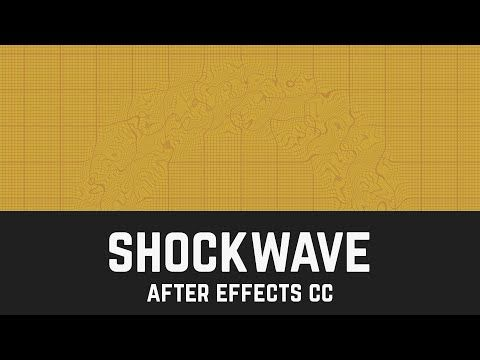 after effects shockwave tutorial