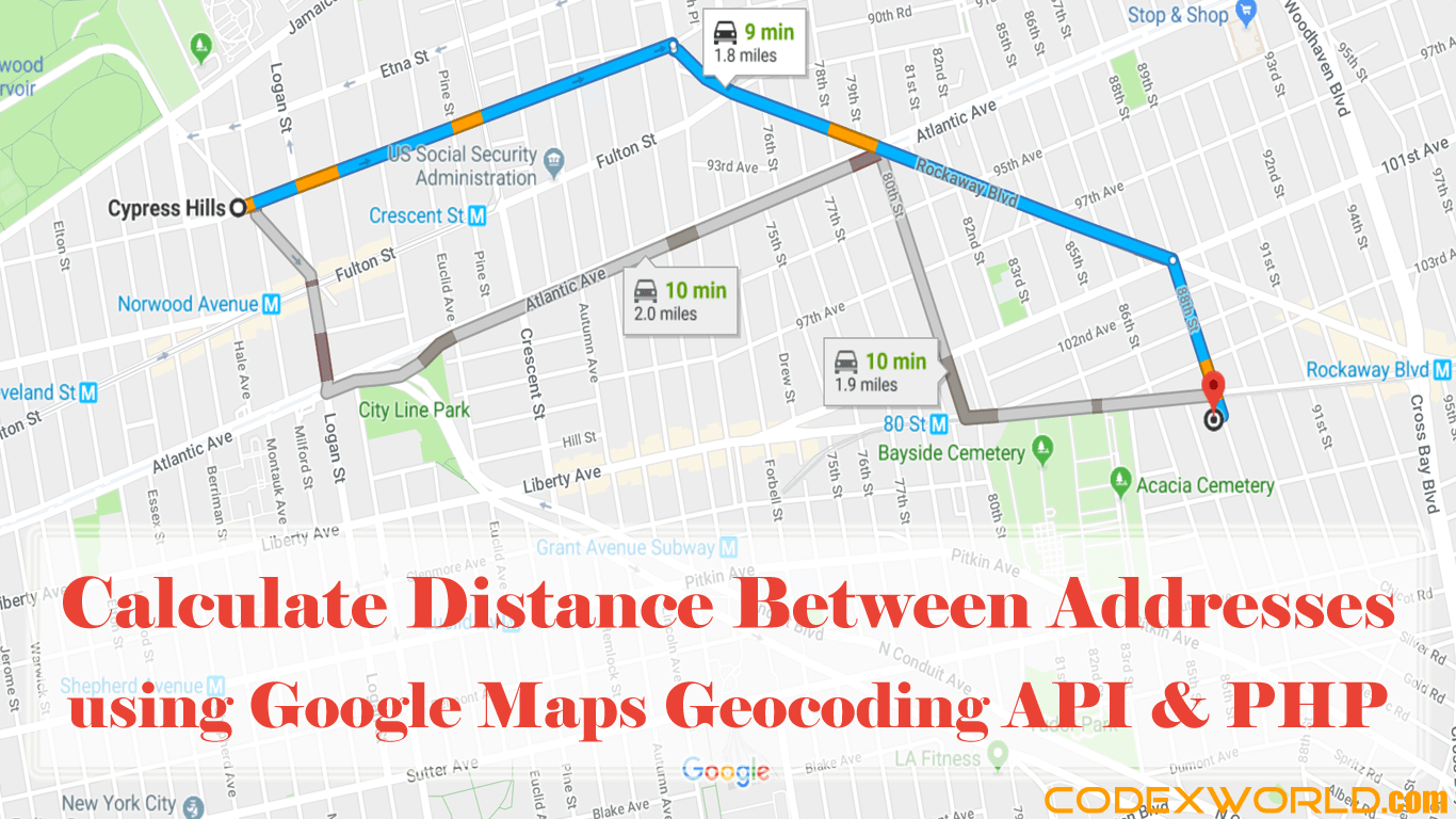 google maps navigation tutorial