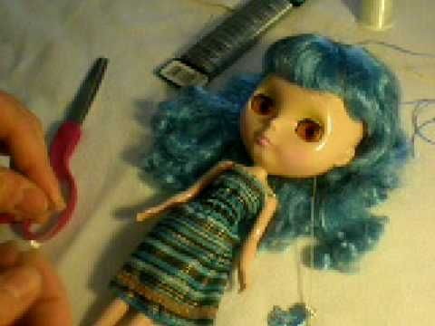 blythe doll custom tutorial