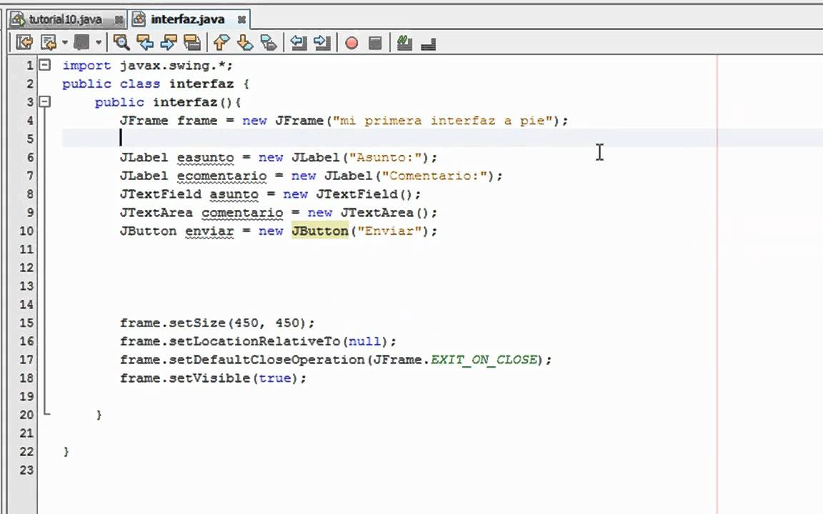 java gui tutorial netbeans