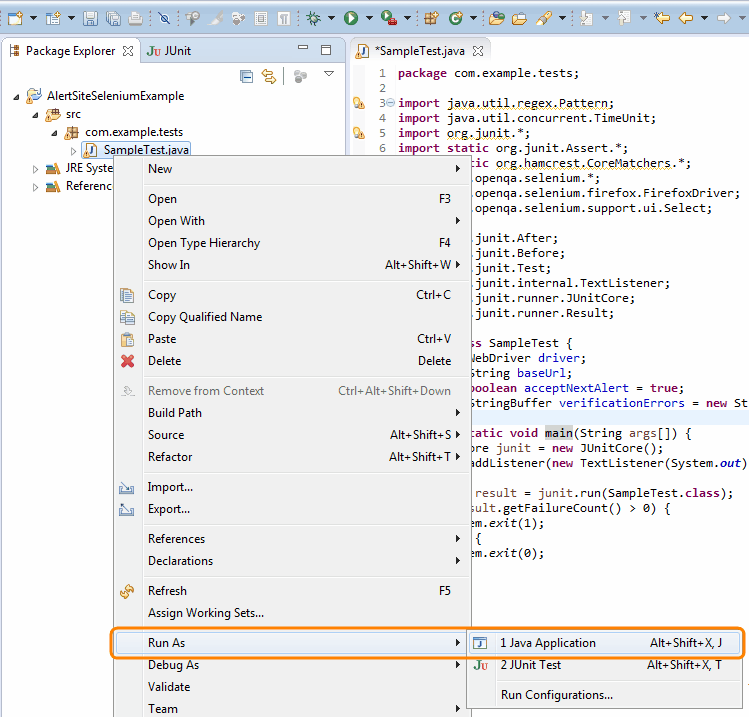 java web application tutorial eclipse