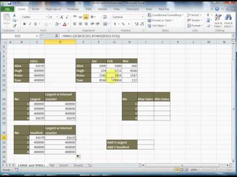 index match excel 2010 tutorial