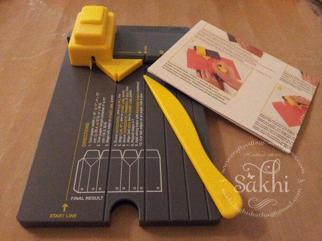 we r memory keepers gift bag punch board tutorial
