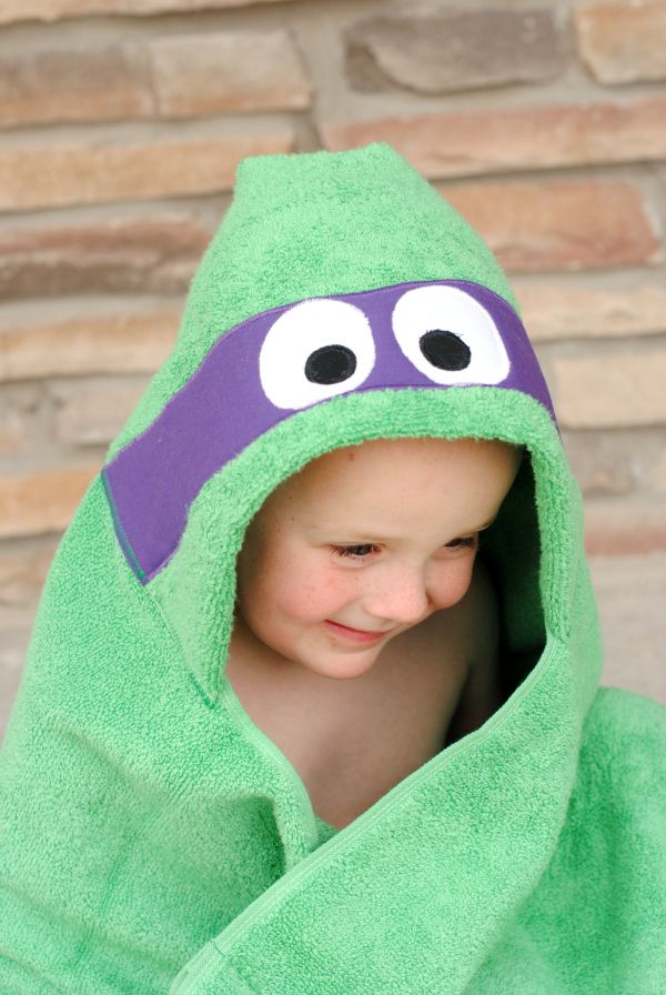 hooded baby towel tutorial