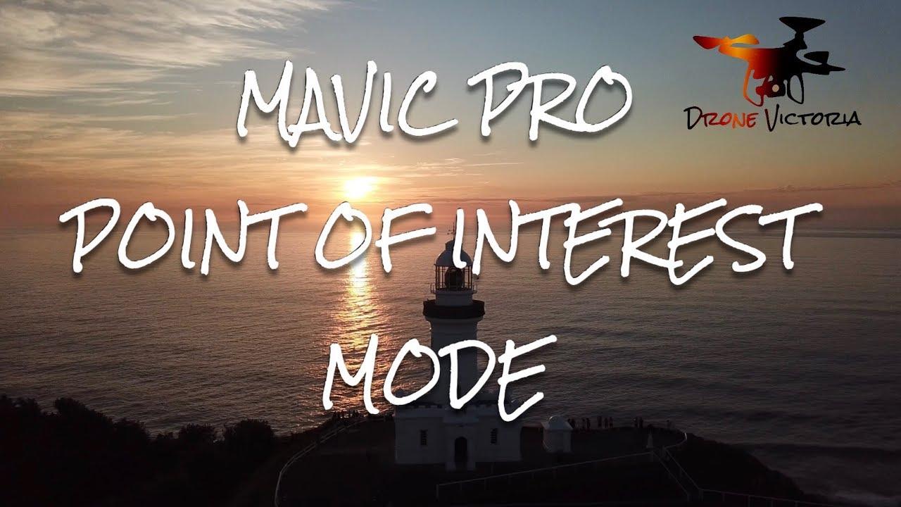 mavic pro point of interest tutorial