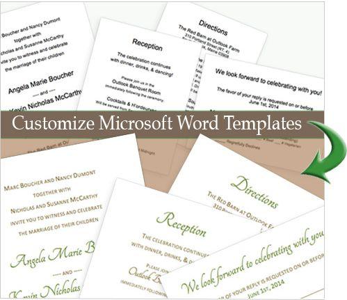 diy wedding invitation tutorial
