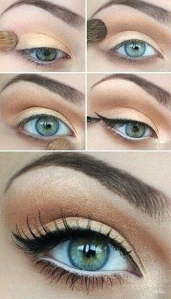 formal eye makeup tutorial