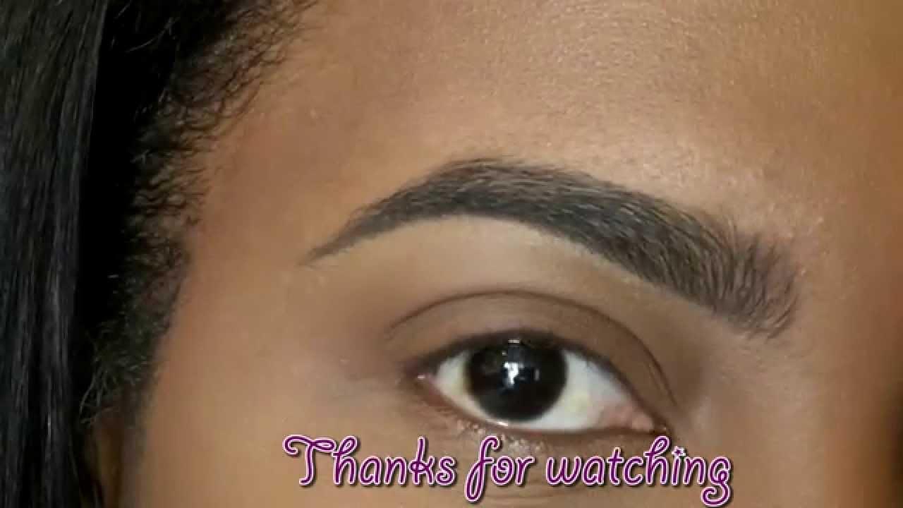 perfect eyebrow tutorial youtube