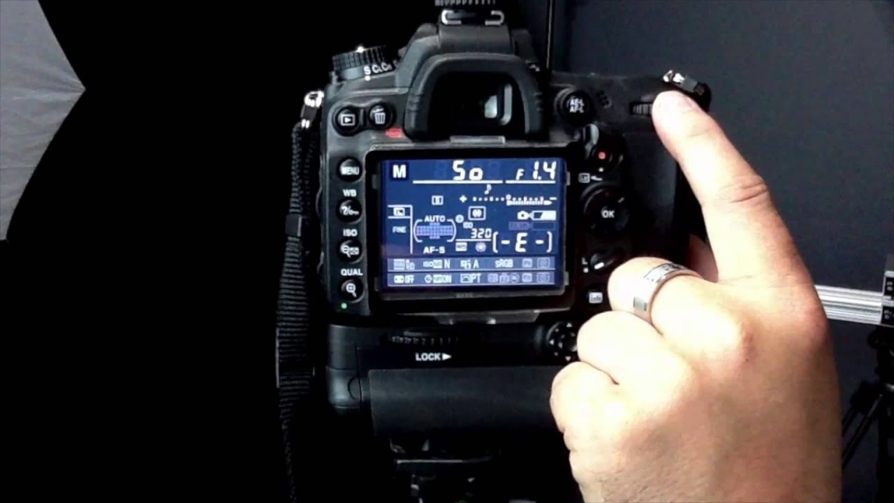 dslr aperture and shutter speed tutorial