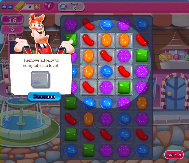 candy crush level 341 tutorial