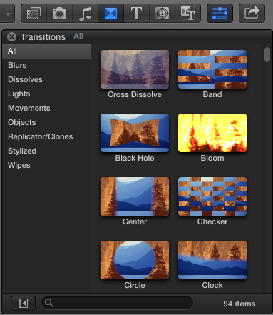 final cut pro transitions tutorial