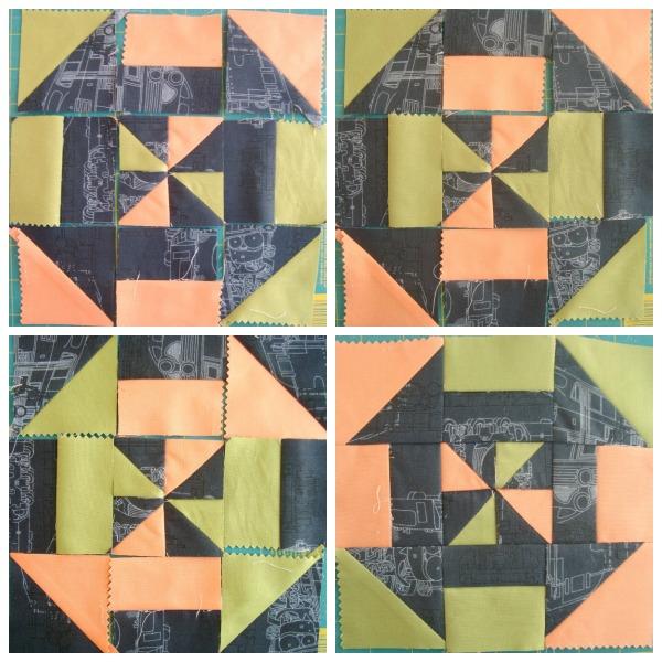 pinwheel quilt block tutorial