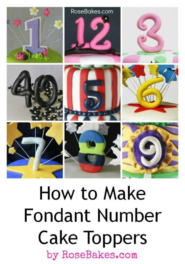 how to make fondant cake tutorial