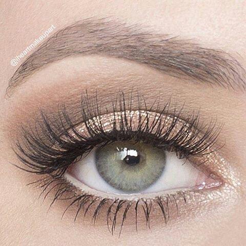 simple eye makeup tutorial for brown eyes