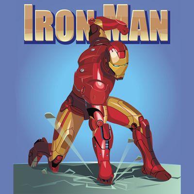 iron man drawing tutorial