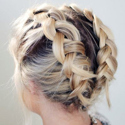 waterfall braid tutorial self