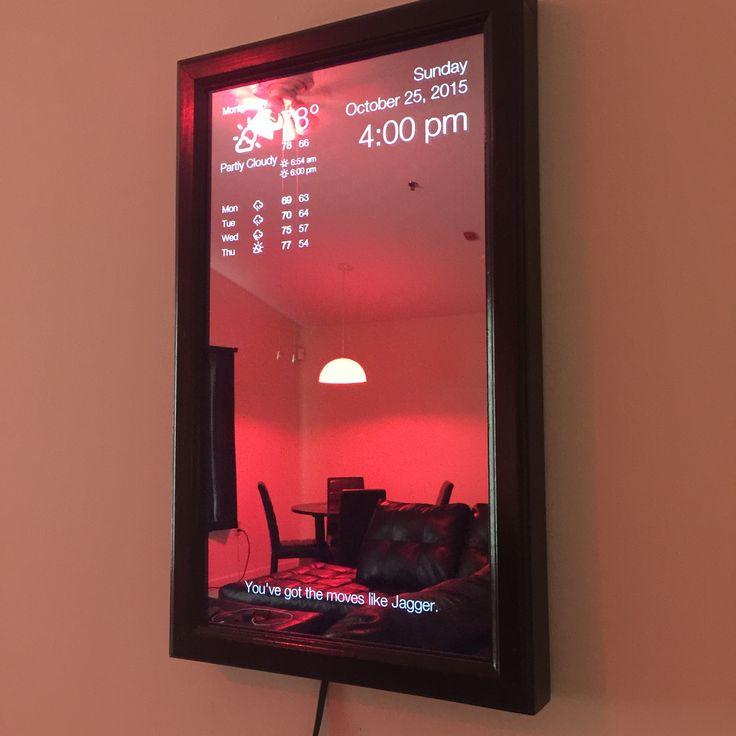 raspberry pi magic mirror tutorial