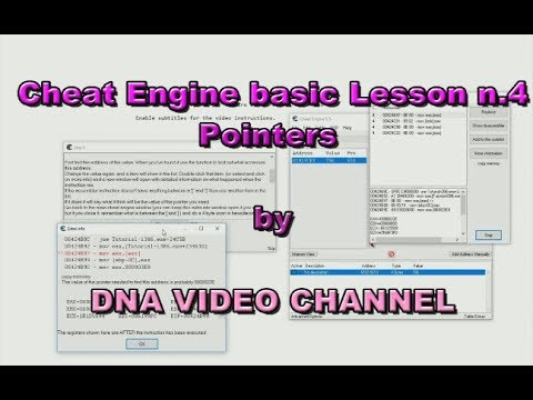 cheat engine pointer tutorial