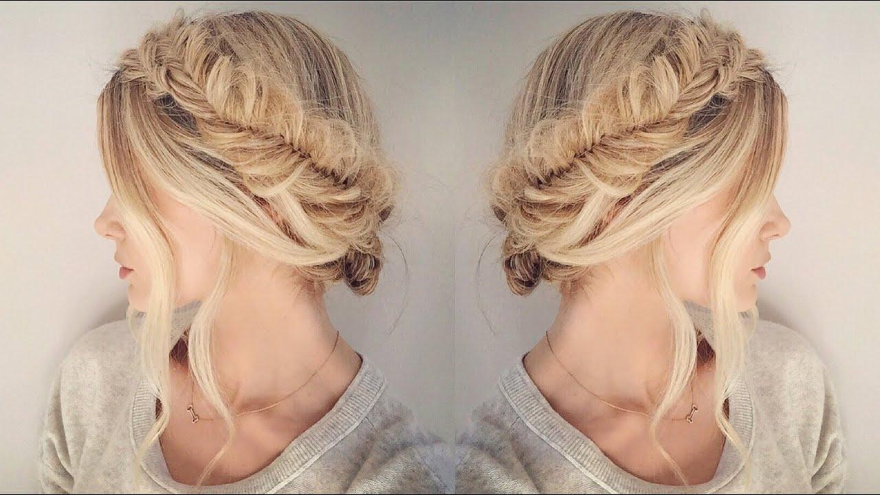 easy fishtail braid tutorial for beginners