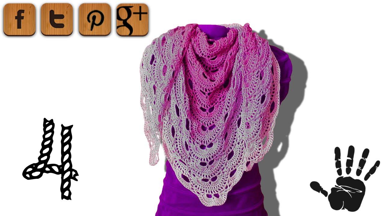 crochet shawl patterns tutorial