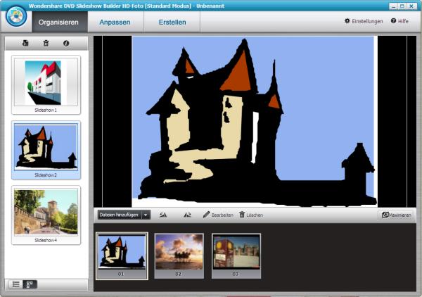 wondershare dvd slideshow builder tutorial