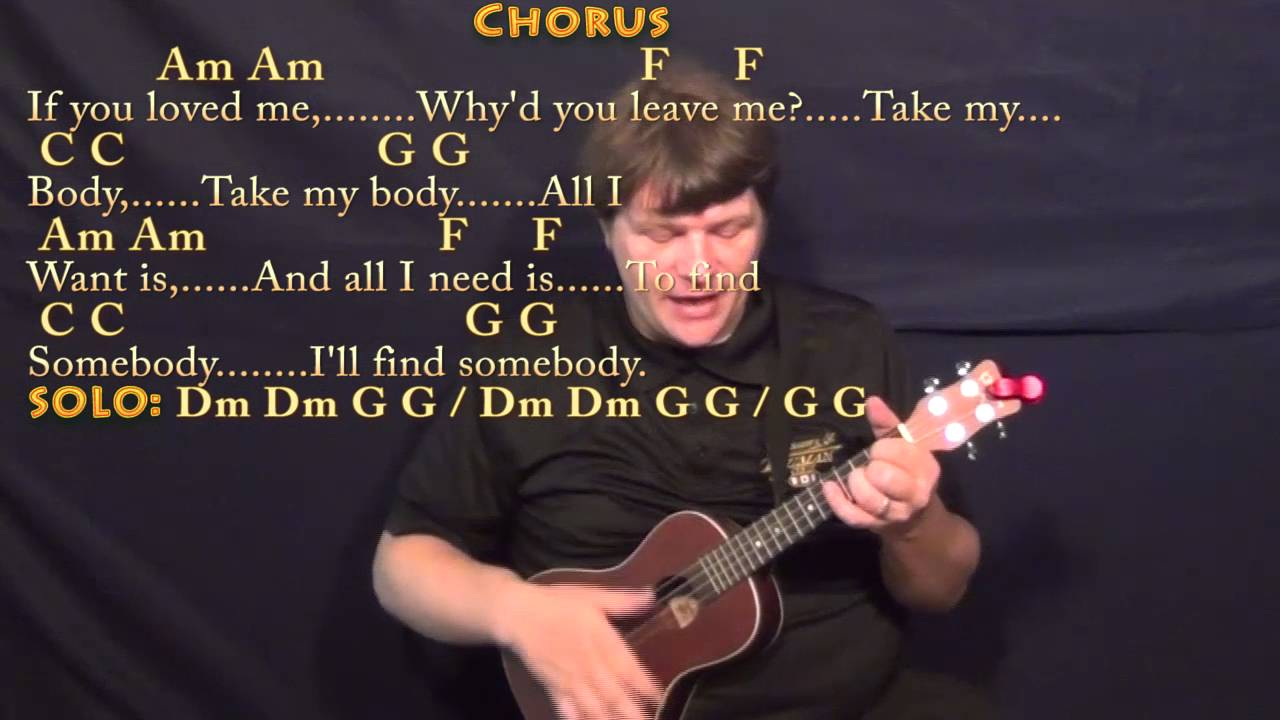 all i want is you ukulele tutorial