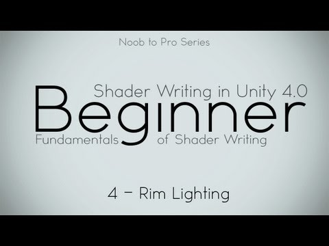 unity 3d lighting tutorial