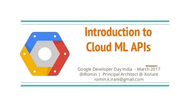 google cloud machine learning tutorial