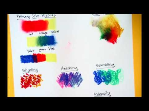 oil pastel tutorial lessons