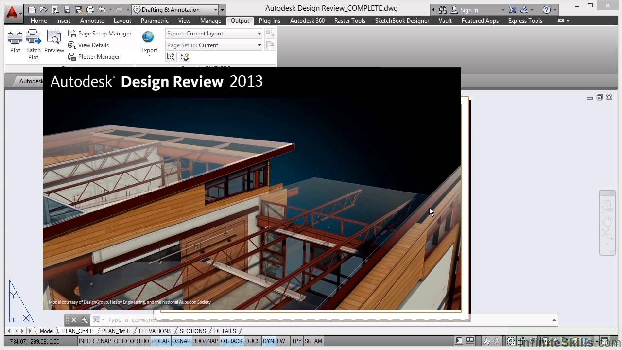 autocad building design tutorial