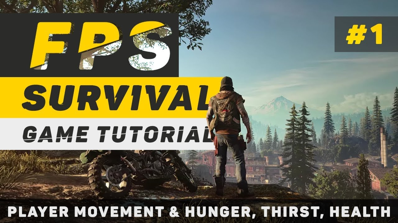 unity3d survival game tutorial