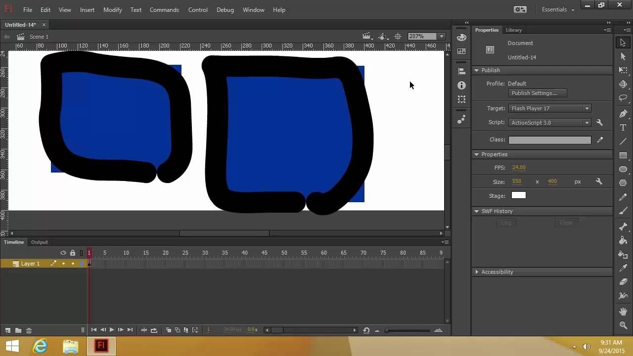 adobe flash professional cc tutorial