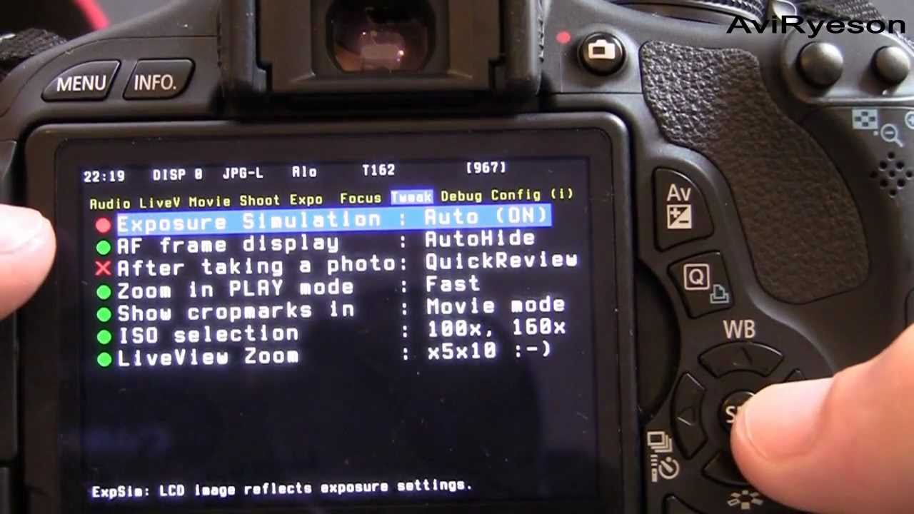 magic lantern tutorial 600d