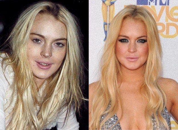 lindsay lohan makeup tutorial