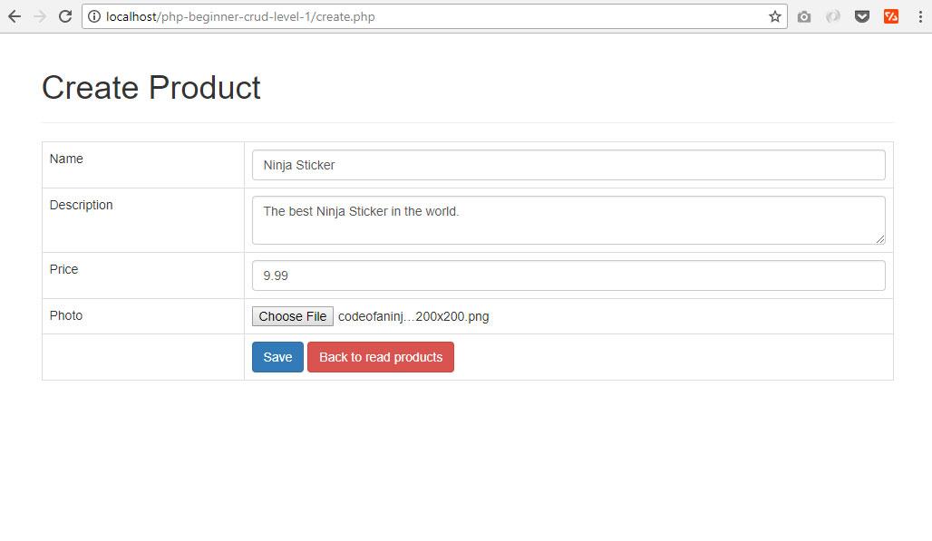php mysql form tutorial