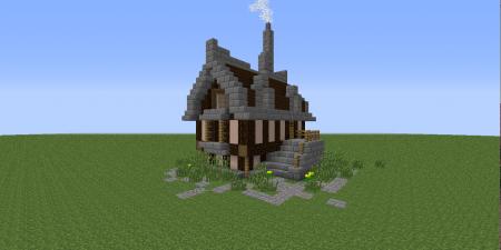 beautiful minecraft house tutorial
