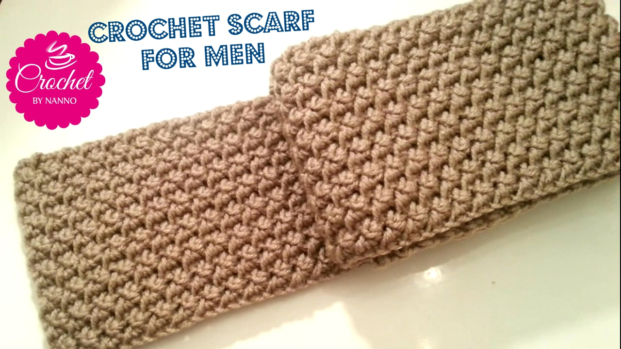 beginner crochet scarf tutorial