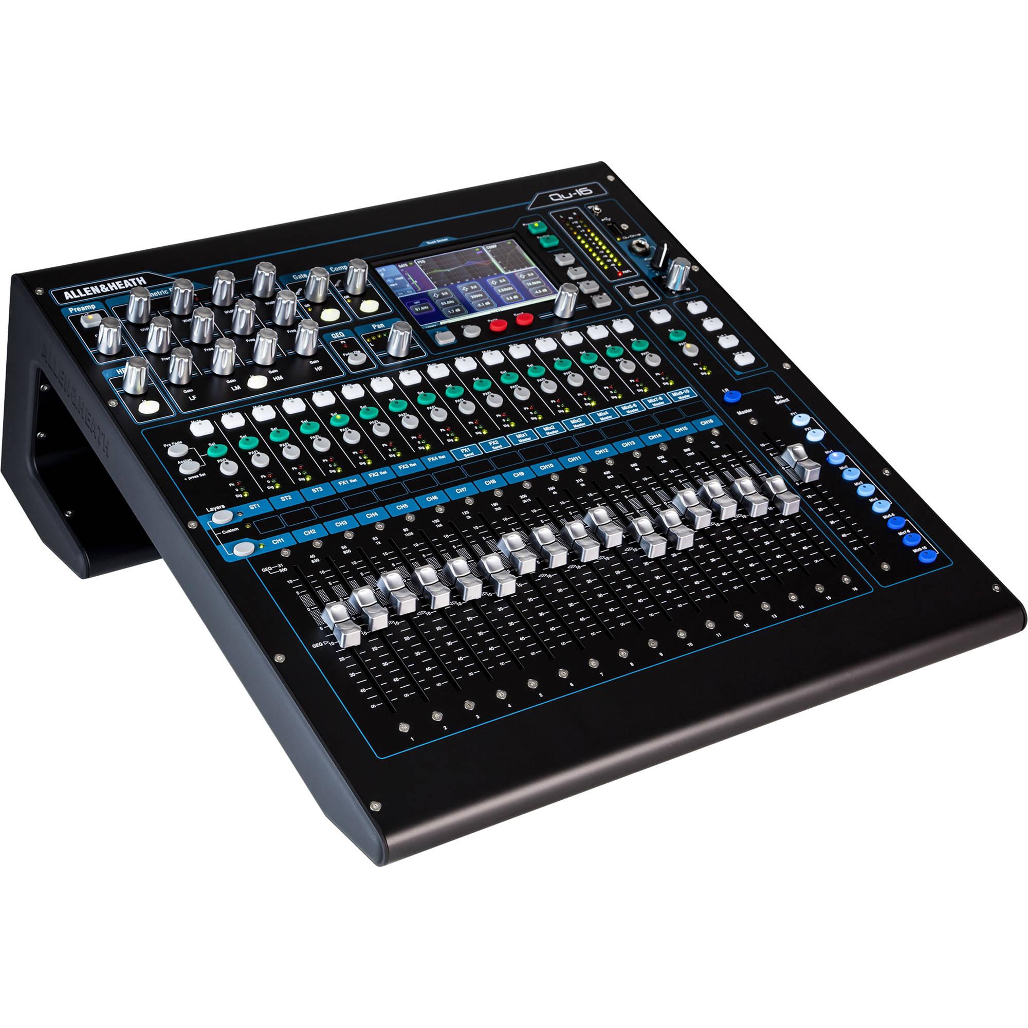 allen and heath mixer tutorial
