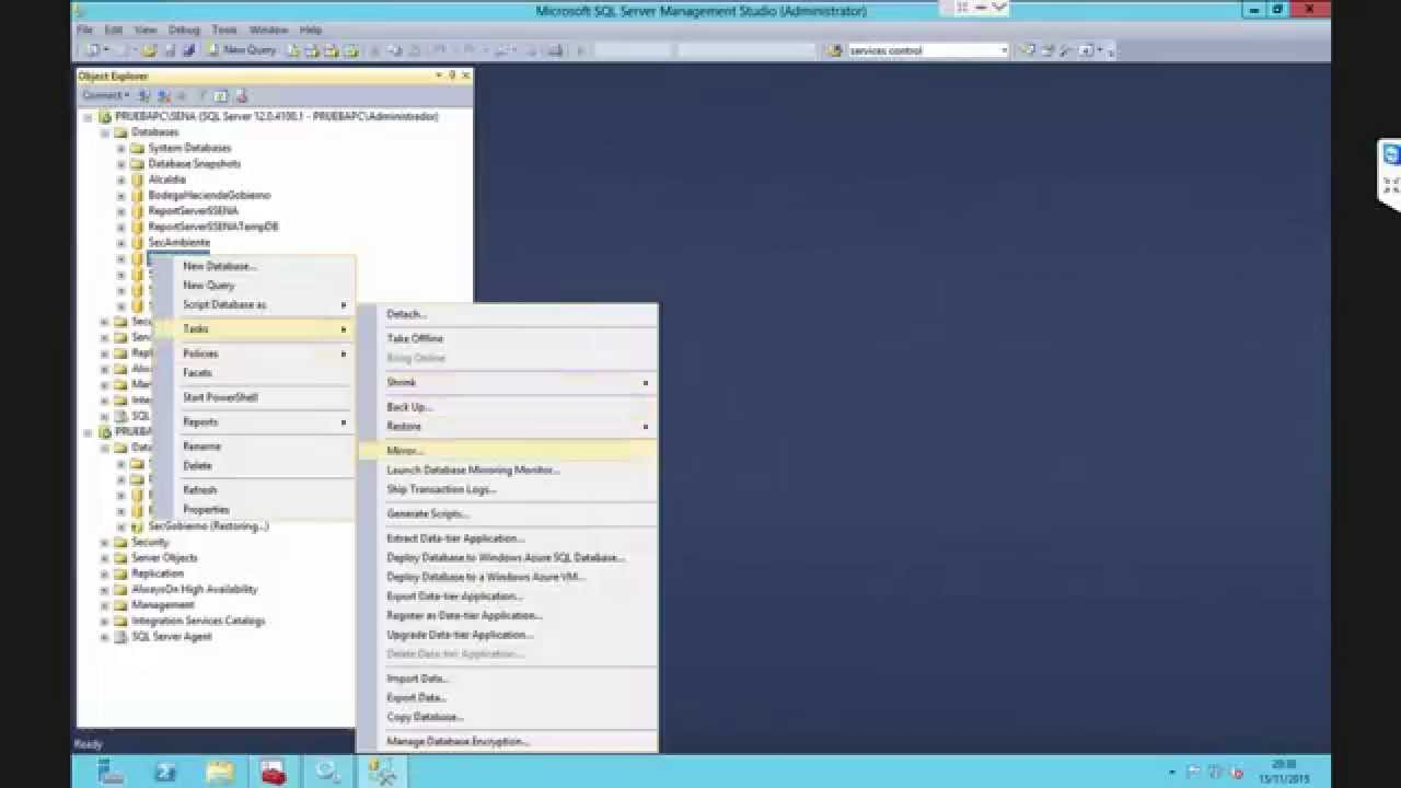 microsoft sql server tutorial youtube