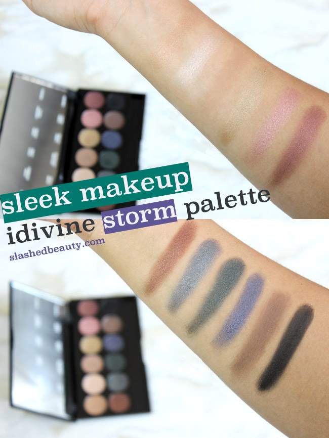 sleek storm palette tutorial