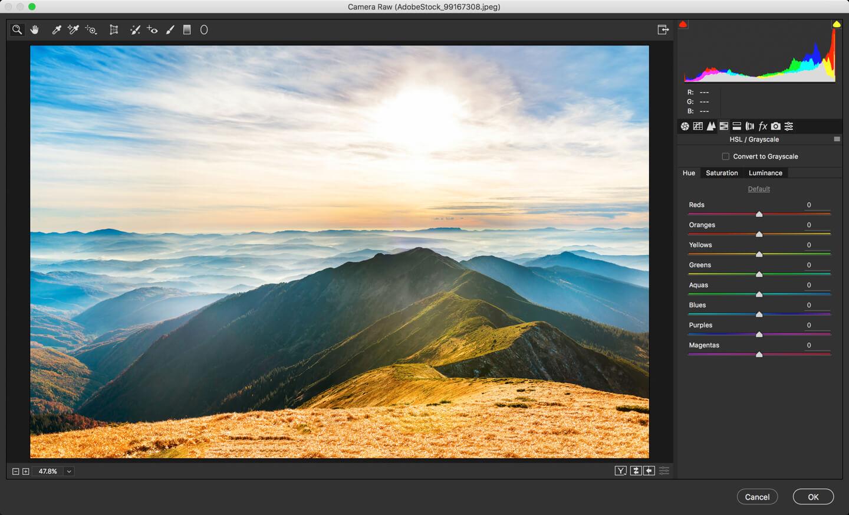 photoshop camera raw tutorial