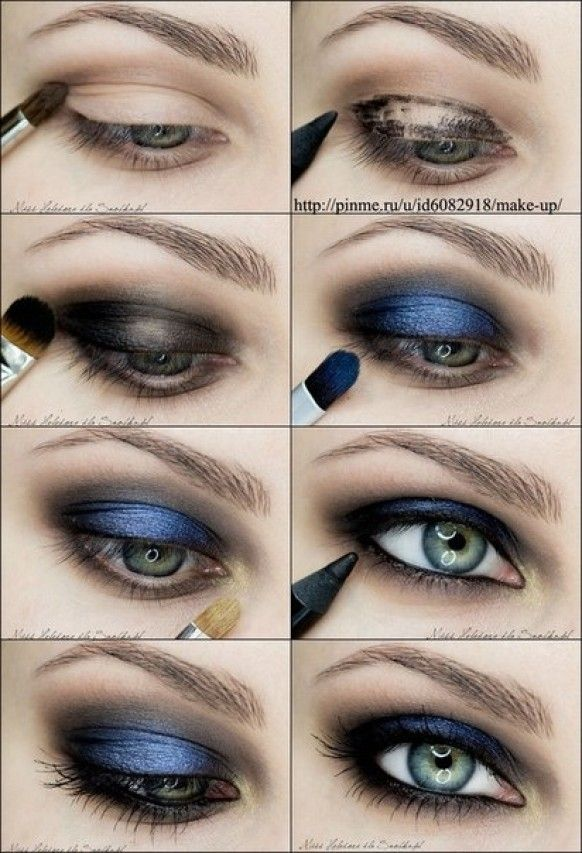 make up eyes tutorial