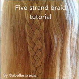 8 strand braid tutorial