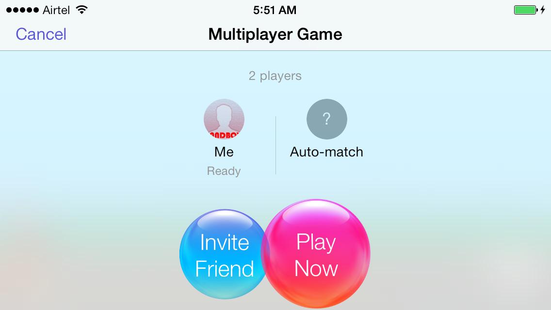 game center multiplayer tutorial