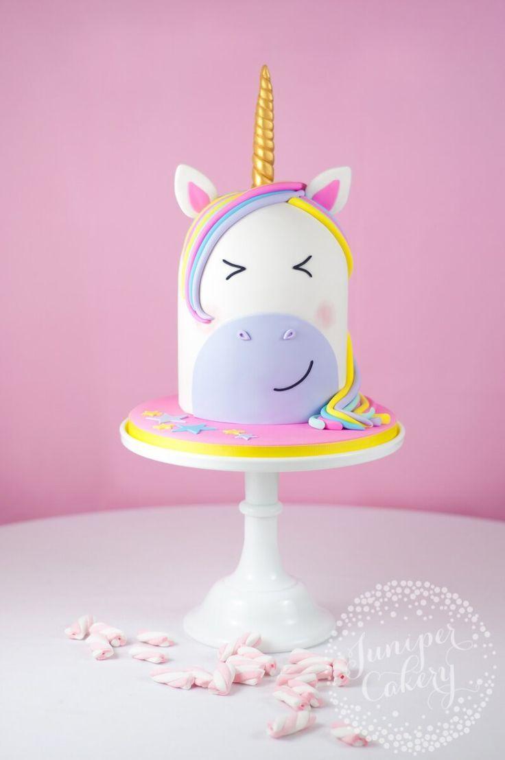 unicorn cake with wings tutorial