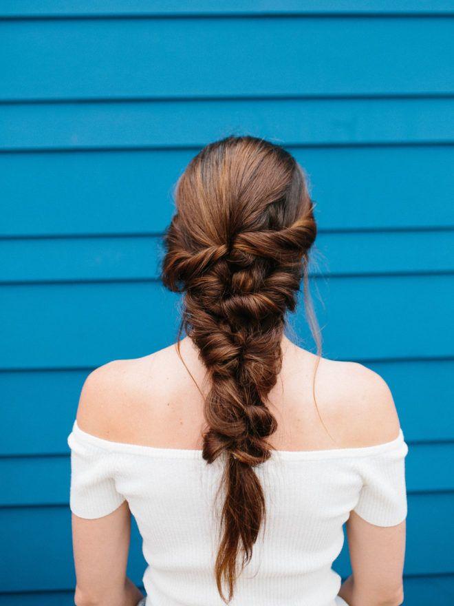 mermaid braid hair tutorial