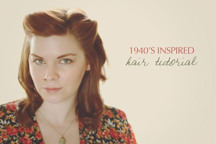 1940s long hair tutorial