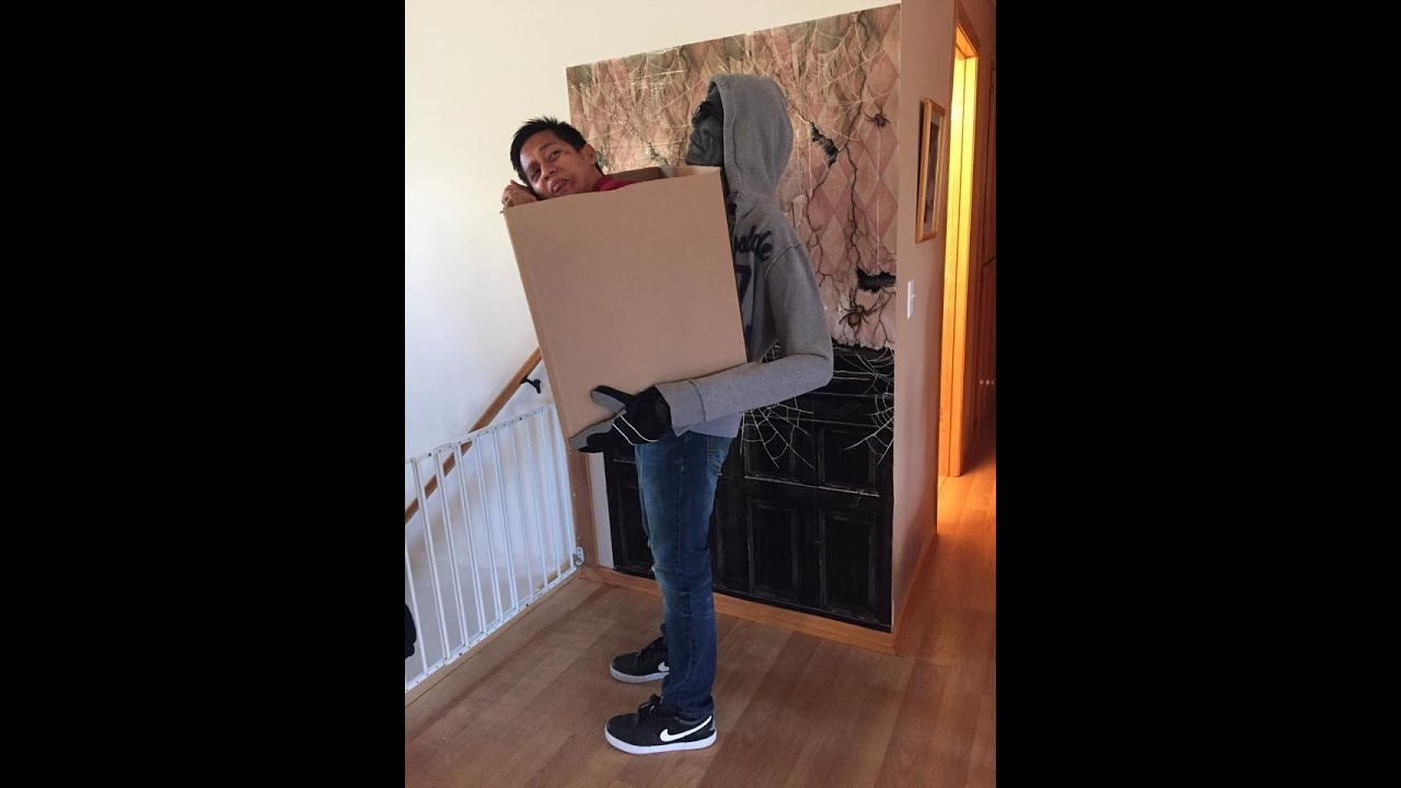 man in a box costume tutorial