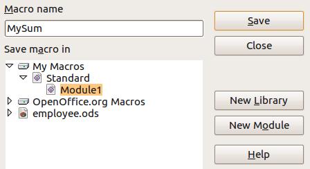 open office spreadsheet macros tutorial